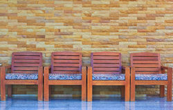 A row of chairs Royalty Free Stock Photo