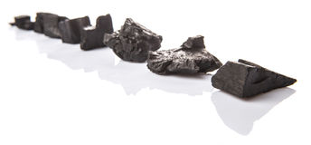 Row Of Charcoal VII Stock Image