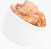 Row chicken Royalty Free Stock Image