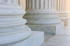 The row of classiclal columns Stock Photo