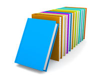 Row of colored Books Royalty Free Stock Photography