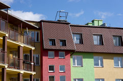 Colorful houses Royalty Free Stock Photography