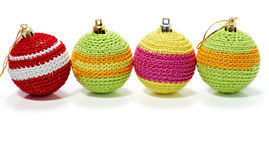 Row of colourful balls Stock Image