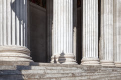 The row of columns Royalty Free Stock Image