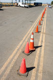 Row of Cones Stock Image