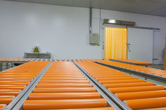 Row conveyer Stock Images