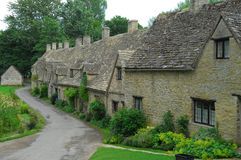Row of cottages Stock Images