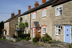 Row of Cottages Royalty Free Stock Photography
