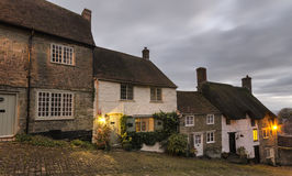A Row of Cottages Stock Photos