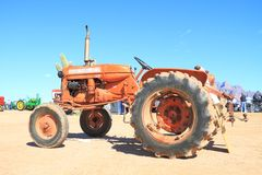 Classic American Tractor - Allis-Chalmers D 10 (1960s) royalty free stock photography