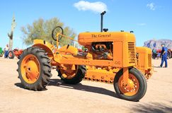 Antique American Tractor - The General (1939) stock photography