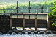 Row of dam cog. Row of 3 dam cog Royalty Free Stock Photos