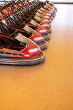 Row of dodgems Royalty Free Stock Photos