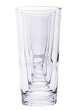 Row of Empty Glasses III Stock Image