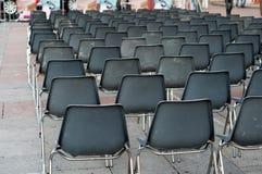 Row of empty seats Stock Image