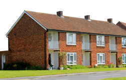 Row of English Terrace houses Stock Photos