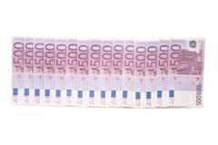 Row of Euro Royalty Free Stock Image