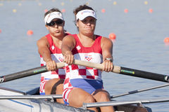 ROW: The European Rowing Championships Stock Images