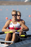ROW: The European Rowing Championships Royalty Free Stock Photos