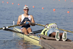 ROW: The European Rowing Championships Stock Image