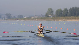 ROW: The European Rowing Championships Royalty Free Stock Image