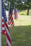 Row of Flags Royalty Free Stock Photos
