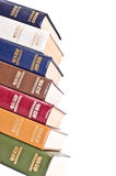 Row From Books Royalty Free Stock Image