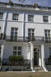 Row of Georgian houses in London Stock Photo
