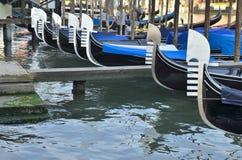 Row of gondolas Stock Photos