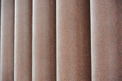 Row of Granite Columns Stock Photo