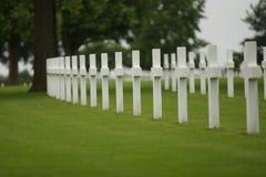 Row Of Graves Royalty Free Stock Photos