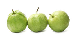 Row of Guava Fruits Royalty Free Stock Photos