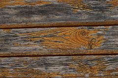 Row of horizontal gray boards background texture old weathered wooden panel peeling paint close-up base royalty free stock image