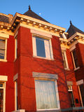 Row House Sunset Stock Photography