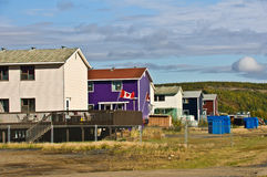 Row of houses Royalty Free Stock Photos