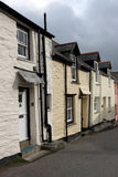 A row of houses in Cornwall Stock Image