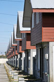 Row of houses Stock Images