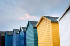 Row of Huts Royalty Free Stock Photos