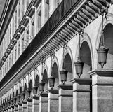 Row of lamps Stock Images