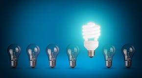 Light bulbs Stock Photo