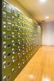 Locker room royalty free stock photos