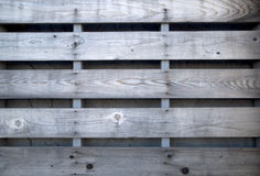 Row of lumber on the wall background Royalty Free Stock Images