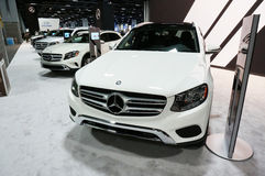 Row of Mercedes Benz Crossovers Royalty Free Stock Photos