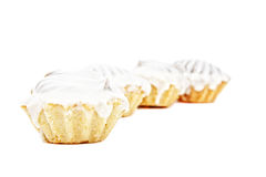 Row of muffins Stock Photos