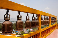 Row Of Bells Royalty Free Stock Image