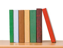 Row Of Books Stock Image