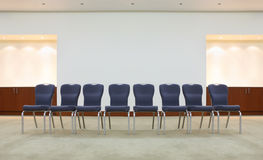Free Row Of Comfortable Chairs In Waiting Room Royalty Free Stock Images - 21460629