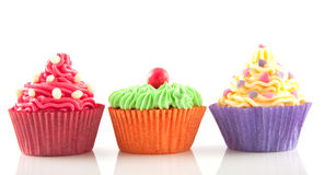 Free Row Of Cupcakes Royalty Free Stock Photography - 11916627