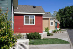 Free Row Of Cute Colorful Cabins Stock Photo - 389260