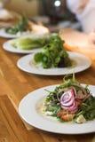 Row Of Gourmet Salads Stock Image